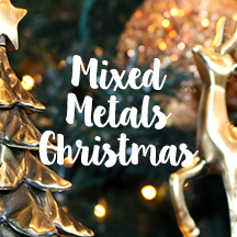 Mixed Metals Christmas Deocorating Inspiration