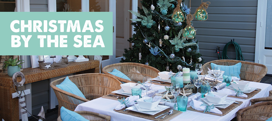 christmas by the sea theme