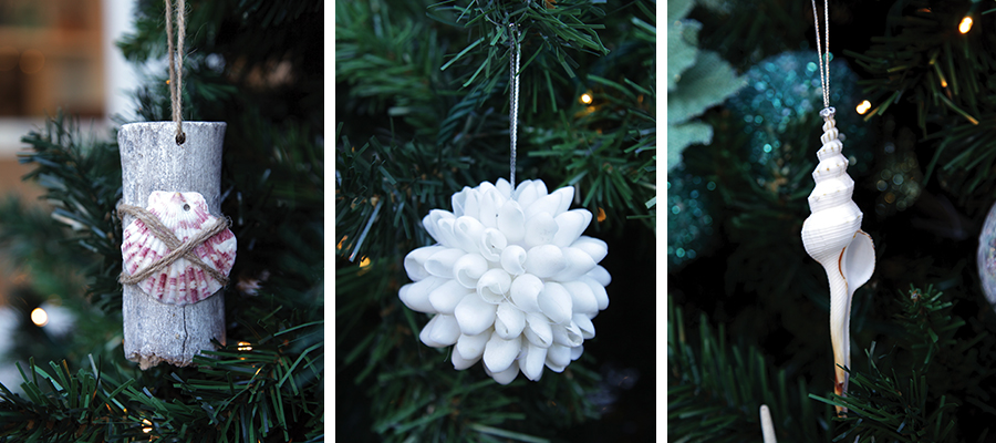christmas by the sea tree decorations
