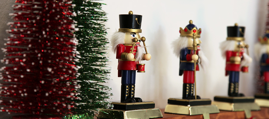 magical christmas morning nutcracker stocking holders