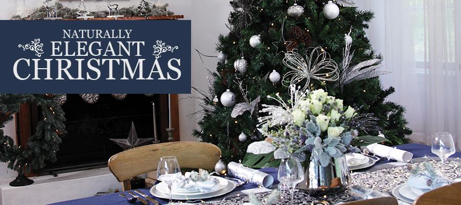 naturally elegant christmas decoration theme