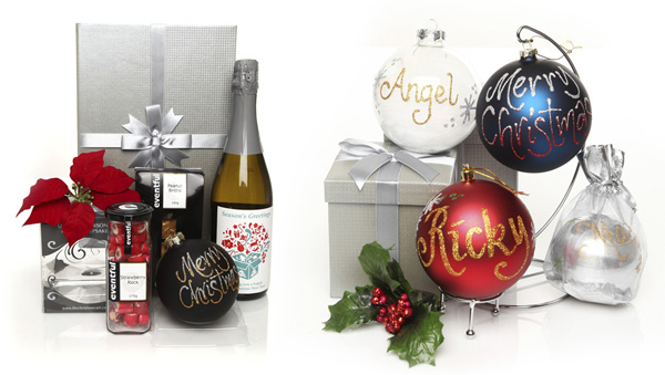 Personalised Corporate Christmas Hampers - The Christmas Cart